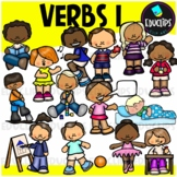 We Love Verbs Clip Art