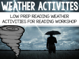 Weather Activities: Reading Workshop