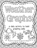 Weather Graphs [a daily activity] B&W edition