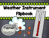 Weather Instrument Printable Flip-book