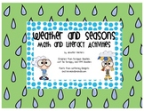 Weather and Seasons Math and Literacy Pack
