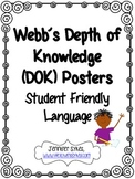 Webb's Depth of Knowledge DOK Posters
