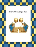 Webquest or Internet Scavenger Hunt  Grades 4-8