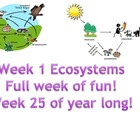 Week 1 Ecosystems