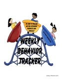 Weekly Behavior Tracker