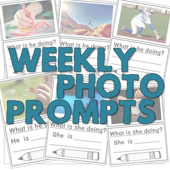 Weekly Photo Prompt: 30 Actions & What Questions {ENGLISH}