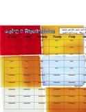 Weekly Priase & Thanksgiving sheet-Squares