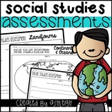Social Studies Review - Assessment {Bundle}