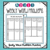 Weekly Word Problems April