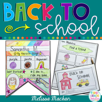 Back to School Activities for K-2 - Welcome Back Pack