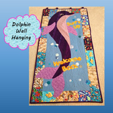 Welcome Back to School Dolphin Quilt