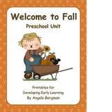 Welcome to Fall ~ Preschool Unit