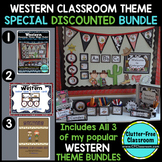 WESTERN / COWBOY  Classroom Theme Packet ~ Printables Deco