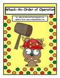 Whack-an-Order of Operation
