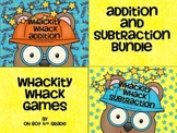 Whackity Whack Bundle... addition and subtraction game