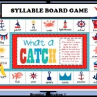 What A Catch 1 & 2 Syllable Words Board Game