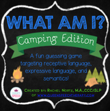 What Am I? A Describing Game {Camping Edition}