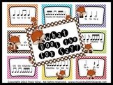 What Does the Fox Say Music Bulletin Board Kit