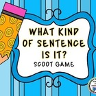 What Kind of Sentence Is It? Scoot Game