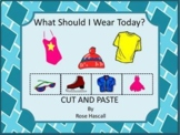 Autism: What Should I Wear Today? PK, K, Special Education