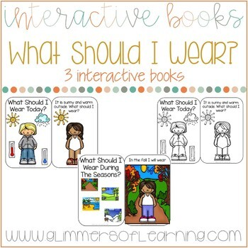 What Should I Wear Today? Interactive Weather book