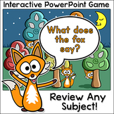 What does the fox say? - Interactive PowerPoint Game for a