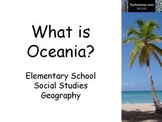 'What is Oceania?' Geography Lesson