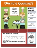 What's Cooking With Expository Text