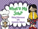 What's My Job: Making Inferences with Community Helpers