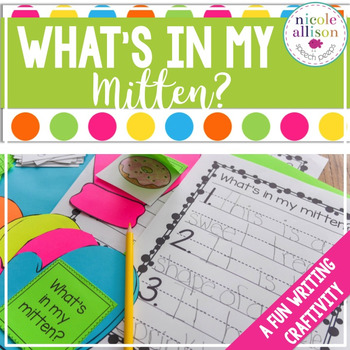 What's in my Mitten? {Craftivity}