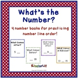What's the Number? - 4 Number Line Books