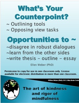 What's your Counterpoint?  - Secrets of Robust Disagreement