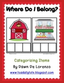 Where Do I Belong?  Categorizing Objects