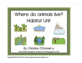 Where do animals live? 11 habitats & their animals 206pgs!