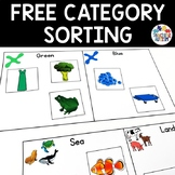 Which Category? Sorting Activity * FREE *