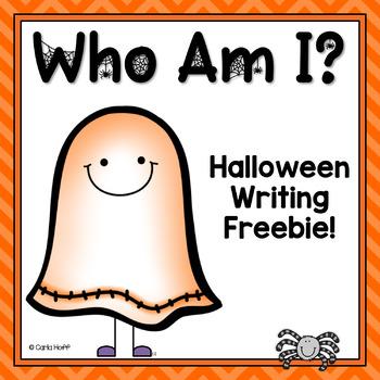 Who Am I?  Halloween Craftivity and Writing Fun!