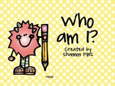 Who Am I? Number Sense Activity