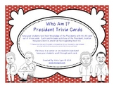 Who Am I? President Trivia Cards