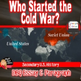Who Started the COLD WAR? Document-Based-Questions