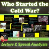 Cold War - Who Started the Cold War? PowerPoint Presentation