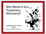 Who Wants to be a Vocabulary Millionaire?