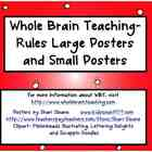 Whole Brain Teaching - WBT Power Teaching Rules Posters