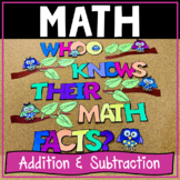 Addition & Subtraction Fact Fluency