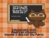 Whooo Did It? Boston Tea Party (American History Series)