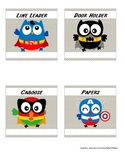 Whooo's a Super Helper job chart ~ Super Hero Owls