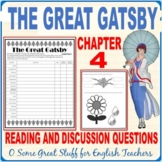 Who's Gatsby?  Characterization in Chapter 4 of The Great Gatsby