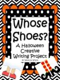 FestiveFriday Whose Shoes A Halloween Creative Writing Craftivity