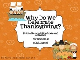Why Do We Celebrate Thanksgiving?  Printable Book and Lite