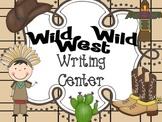Wild, Wild West - Writing Center