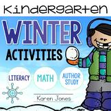 Winter Activities for Kindergarten with ELA & Math Common Core!